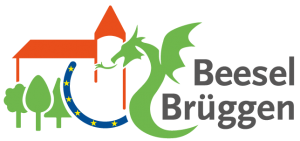 Gemeinschaftslogo der Gemeente Beesel und der Burggemeinde Brüggen